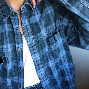 Vintage Oversized Button Shirt